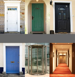 Lawrenceville Apartment Doors